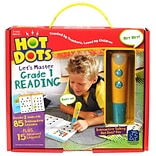 Hot Dots Lets Master Grade 1 Reading Ages 6+, 3 Pieces Per Set (2392)