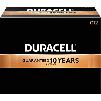 Duracell Coppertop C Alkaline Batteries, 72/Carton