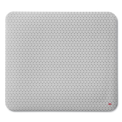 3M™ Precise™ Mouse Pad with Non-skid Foam Back, Enhances Optical Mouse Performance, Battery Saving Design, 9 x 8, Bitmap
