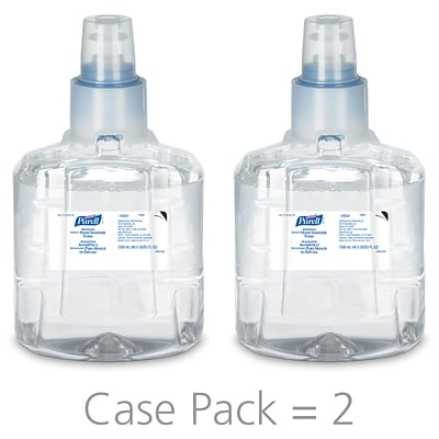 Purell® Advanced Foaming Hand Sanitizer Refill for LTX-12 Touch-Free Dispsr, 1200 mL, 2/CT (1905-02)