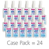 PURELL® Advanced Hand Sanitizer, Clean scent, 2 oz., 24/CT (9606-24)
