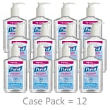 PURELL® Advanced Refreshing 8 oz. Gel Hand Sanitizer, Clean Scent,  12/Carton (9652-12CT)