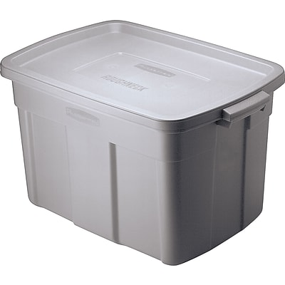 Rubbermaid® Roughneck® Roughtote® Storage Box; 14 gallon