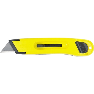Stanley® Utility Knives, Plastic Case Utility Knife, 36/Carton