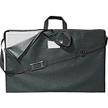 Quartet® Carrying Case for Table-Top Display, Black, Zipper Close