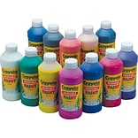 Crayola® 16 oz. Washable Paint, Assorted, 12/Set