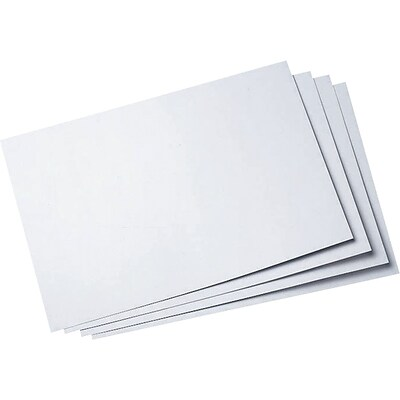Elmers® White Poster Board; 22 x 28, 50 Sheets