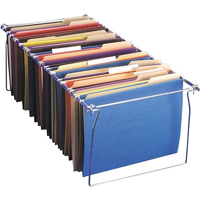Officemate® Adjustable Hanging Folder Frames, Letter Size, 6/Box