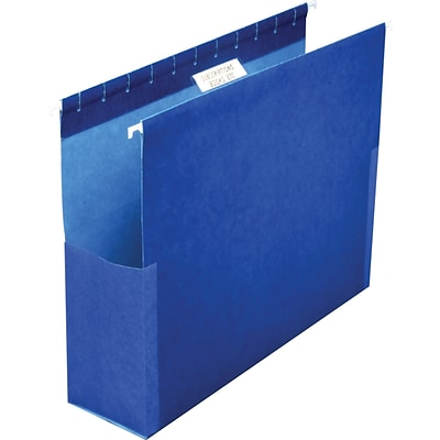 Pendaflex® Box Bottom Hanging Folders with Sides, Letter Size, 2 Expansion