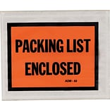 Duck™ Packing List Envelopes, Security Window, 500/Pack