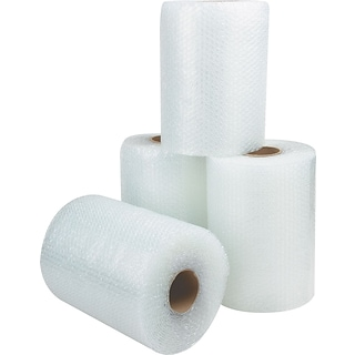 SI Products 3/16 Non-Perforated Bubble Rolls, 48 x 300 (BWUP31648)