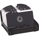 Rolodex® Black Mesh Card File