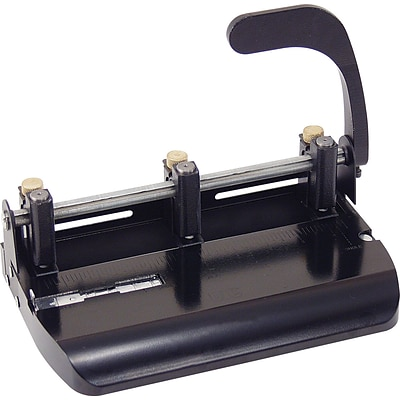OIC® Heavy-Duty 2-3 Hole Punch with Lever Handle, 32 Sheet Capacity
