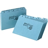 Oxford® 5 x 8 Alphabetical Pressboard Indexed Tab Guide Sets