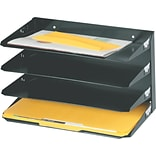 Steelmaster Lit-ning 4-Tier Horizontal Legal-Size Files