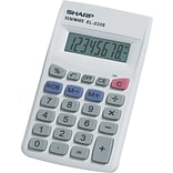 Sharp EL-233SB 8-Digit Display Calculator