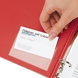 Cardinal Hold-It Business Card Pocket
