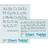 Pacon® 1 Ruled Chart Tablets