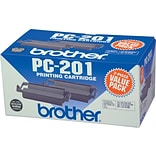 Brother® PC-201 Black Printing Cartridges Multi-pack (2 cart per pack)