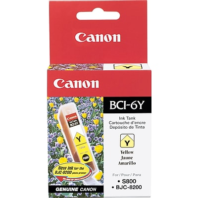 Canon BCI-6Y Yellow Ink Cartridge (4708A003)
