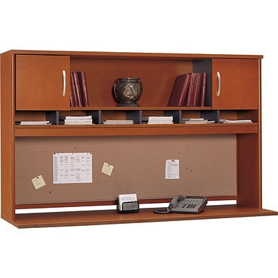 Bush Business Furniture Westfield 72W 2 Door Hutch, Auburn Maple, Installed (WC48566KFA)
