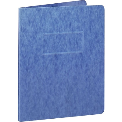 Oxford® PressGuard® Recycled Report Covers, Blue, 5/Pack