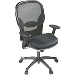 Office Star Mesh Back Fabric Seat Chair