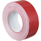 Staples® Colored Duct Tape, Red, 2 x 60 yards, 3/Pack