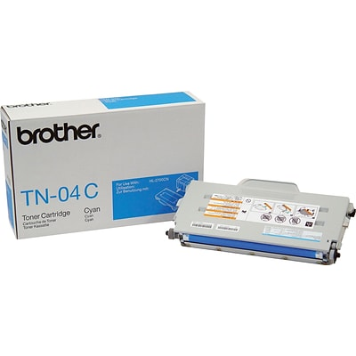 Brother Genuine TN04C Cyan Original Laser Toner Cartridge