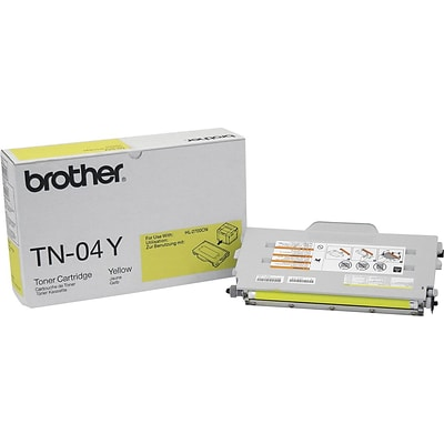 Brother Genuine TN04Y Yellow Original Laser Toner Cartridge