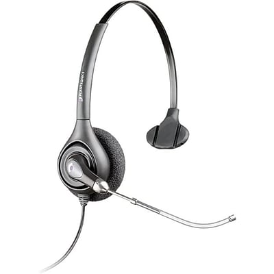 Plantronics H251 Supra Plus Wideband Headset with Voice-Tube Microphone
