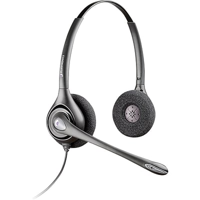 Plantronics® SupraPlus™ Series Headsets, HW261N, Binaural with Noise-Canceling Microphone