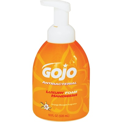 GOJO® Antibacterial Luxury Foam Hand Wash, 18 oz.