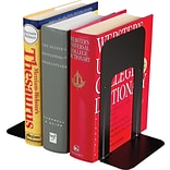 Lit-Ning 9 High Black Metal Bookends