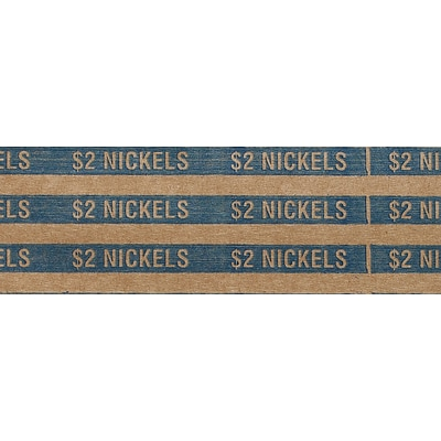 Nickels Coin Wrappers, 20,000/Carton