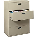 MBI 52-5/8x36x18 4-Drawer Lateral File