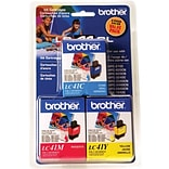 Brother® LC41CL (LC41CL3PKS) Tri-Color Ink Cartridges Multi-pack (3 cart per pack)