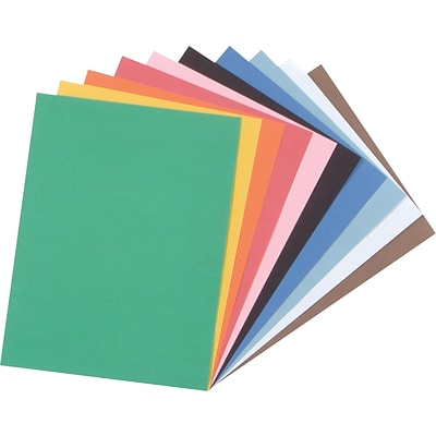 Pacon Tru-Ray Construction Paper 12 x 9, Assorted (103031)