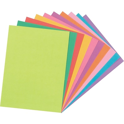 Tru-Ray® Fade Resistant Art Construction Paper, Bright Assorted Colors, 9 x 12, 50 Sheets