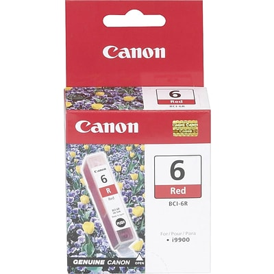 Canon BCI-6R Red Ink Cartridge (8891A003)