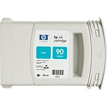 HP 90 Cyan Ink Cartridge (C5060A); 225ml