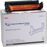OKI® 41962804 Image Drum for C7100, C7300, C7500 Printers; Black