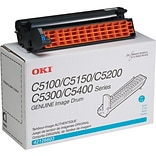 OKI 42126603 Cyan Drum Cartridge, Standard Yield