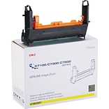 OKI® 41962801 Image Drum for C7100, C7300, C7500 Printers; Yellow