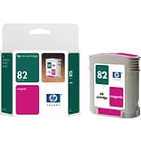 HP 82 Magenta Ink Cartridge (C4912A); 69ml
