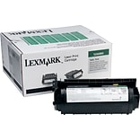 Lexmark 12A6865 Black Toner Cartridge; High Yield