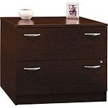 36W 2Dwr Lateral File in Mocha Cherry