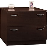 Corsa Mocha Cherry 2-Drawer Lateral File