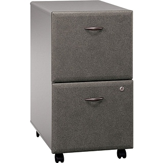 Bush® Cubix™ Pewter Finish 2-Drawer File