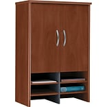 Bush® Corsa Dark Cherry 30 Hutch